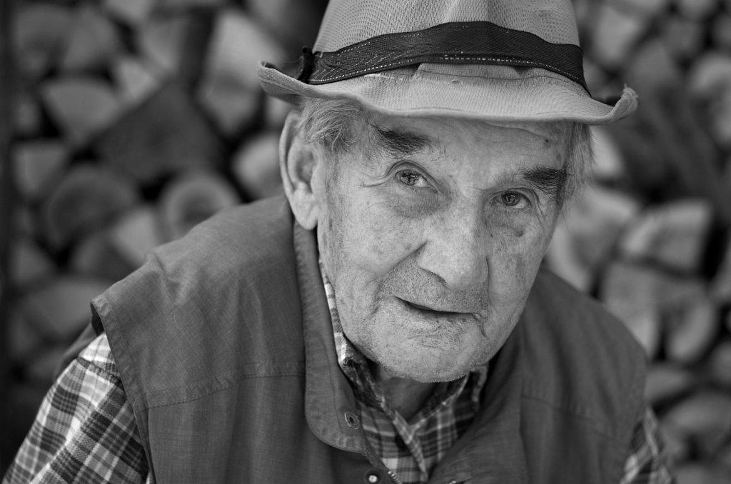 Oldest man in the village